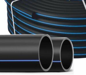 Два вида труб. Прямые отрезные большого диаметра, в бухтах