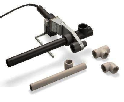 Разные виды соединительных элементов для трубы. Такие как тройник, отвод