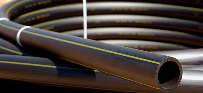 установочный процесс ПЭТ. ПЭТ трубы собранный в бухту