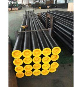 Показано готовые трубы сделанные на нашем заводе Trans Plast
